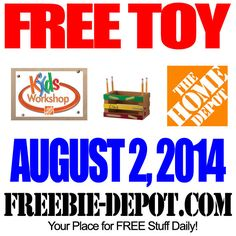 FREE Pencil Holder at Home Depot