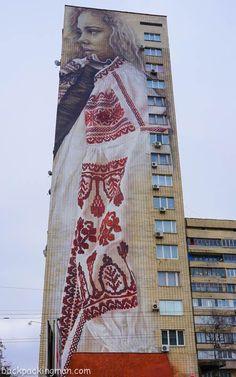 Street Art In Kiev - A Guide - Backpackingman