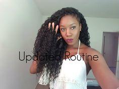 Updated Crochet Braid Routine for Deep Twist Hair