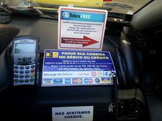Rio de Janeiro tem o Primeiro Táxi com TelexVoip do Brasil