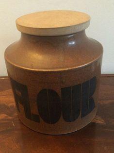 Retro Mid 20th century ceramic Flour container  | eBay Flour Container, Ceramics, Retro, Ebay, Things To Sell, Ceramica, Pottery, Ceramic Art, Retro Illustration