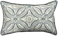 'Emblem Outdoor Throw Pillow by Jiti. @2Modern'