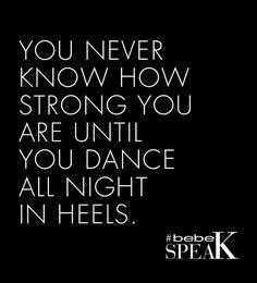 #Quotes #heels #dancing