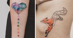 Geometrical Tattoos By Jasper Andres Beautifully Fuse Geometry With Nature | Bored Panda