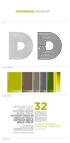 Dronninga Landscape Architects Visual Identity 02
