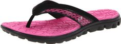 Skechers Women's On The Go Escape Flip Flop,Black/Hot Pink,10 M US Skechers,http://www.amazon.com/dp/B0087GGCB0/ref=cm_sw_r_pi_dp_gD2mtb1QP7EG8NN1