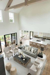 Living Room Modern, Home Living Room, Living Room Decor, Small Living, Living Room Next To Kitchen, Room And Board Living Room, Living Room Contemporary, Living Room Accent Chairs, Living Room And Kitchen Together