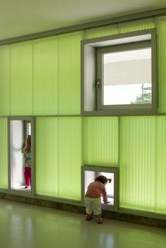 Pablo Neruda Kindergarten in Alcorcón, Spain by Rueda Pizarro Arquitectos