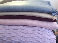 Soya sjaals en omslag doeken