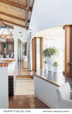 We Love the Groot Bos Nature Reserve's Clean White Interior | Photography by Angelique Smith