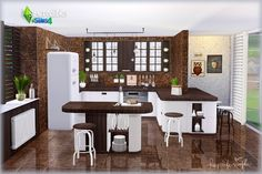 Sims 4 CC's - The Best: Kitchen by SIMcredible!Design