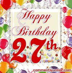 happy 27 th birthday - Pesquisa Google