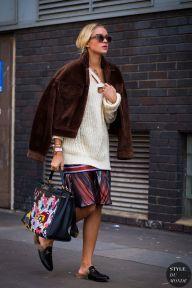 London Fashion Week SS 2016 Street Style: Nina Suess