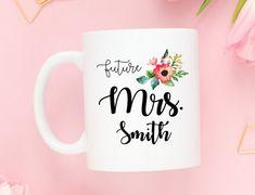 Future Mrs. Mug  Coffee Mug  Engagement Gift by BumbleAndBustle