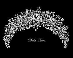 Bridal Hair Vine, Headpiece Wedding, Bridal Headpieces, Bridal Tiara, Crystal Headband, Rhinestone Headband, Color Plata, Wedding Hair Pieces, Wedding Hair Accessories