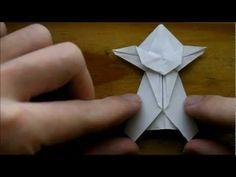 Origami Jedi Master Yoda - YouTube