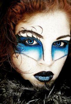 ...beautiful face painting art