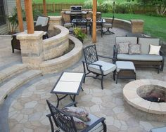 Cement Patios Design, Pictures, Remodel, Decor and Ideas - page 13