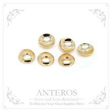 10 PCS Gold Filled Findings Small Medium Semi-Sphere Bead Cap/Tassel Cap,4mm,6mm,8mm, GF Brass(GFBC0028)  Handmade Jewelry, DIY Accessories, Handcraft, Craft, Necklace, Gold  Bracelets, Anklets, Earrings, Jewelry Findings, Jewelry Bead Caps, Jewelry Components, Fashion, Trend Style  www.anterossupplies.com