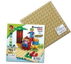 Baseplate DIY Creative Large Bricks Toys for Children Educational Compatible Bricks Baseboard 12x12 stud