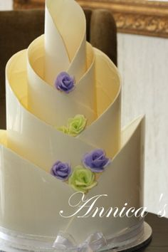 Chocolate Art Wedding Cakes