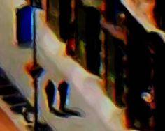 "Artist: john kasper; Painting New Media ""New York CIty Stroll"""