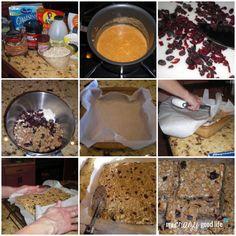 Healthy Granola Bar Recipe