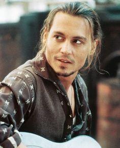 Chocolat, with Johnny Depp