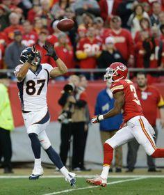 Decker named AFC Offensive Player of the Week Denver Broncos Logo eecf35114