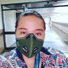 Just because #respro masks rock! It provides unbeatable comfort and protection with their HEPA filter insert❤