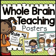 Whole Brain Teaching Poster Set {Dots Classroom Set} BUY the Brights Classroom Set MEGA-BUNDLE and get MORE resources like this one!!! Includes