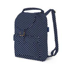 Backpack Navy Dot by BAGGU