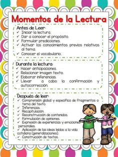 Moments Strategies and Modalities of Reading in th Dual Language Classroom, Bilingual Classroom, Bilingual Education, Spanish Classroom, Reading Strategies, Reading Activities, Guided Reading, Reading Comprehension, Spanish Teaching Resources