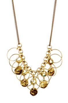 Lemon Quartz Fringe Necklace