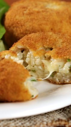 Croquetas de Arroz con Queso – Fırın yemekleri – Las recetas más prácticas y fáciles Veggie Recipes, Mexican Food Recipes, Vegetarian Recipes, Cooking Recipes, Healthy Recipes, Healthy Wraps, French Food Recipes, Medeteranian Recipes, Damn Delicious Recipes