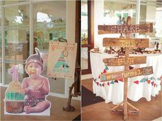Breña's Little Indian Pow Wow Party – Entrance