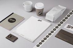 Brio Café identity by Rodrigo Zuloaga, via Behance