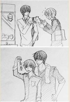 Sekaiichi Hatsukoi | Onodera Ritsu | Takano Masamune | By: @yukarikoume | Alice :3