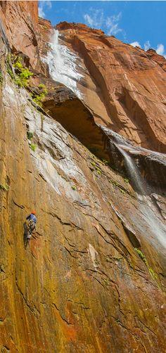 Climbers Conquer Stu