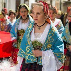 Albanians (Arberesh) of Piana Degli Albanesi (Italy) celebrating Easter.