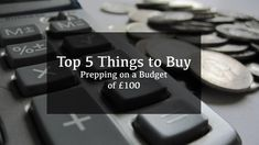 Prepping on a budget of £125 can be pretty boring. When you are preparing yourself for SHTF, you need to use your money as wisely as possible, which is why I have made this guide on how you can prepare on a small budget.
