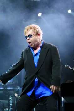 Sir Elton John: always fashionable with his EyeBling