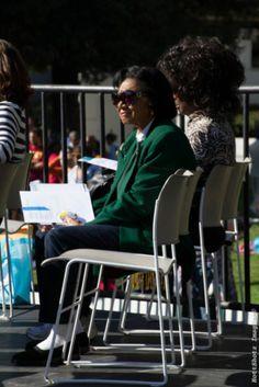 Broadcast television pioneer Belva Davis celebrates at the MLK2014 events in San Francisco.