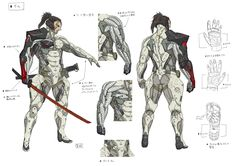 Metal Gear Rising Revengeance Samuel Concept Art 5