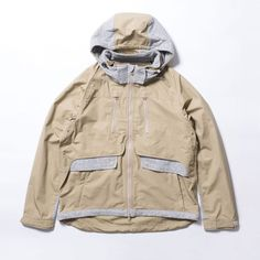 Meanswhile / Cotton Typewriter Contrary Parka