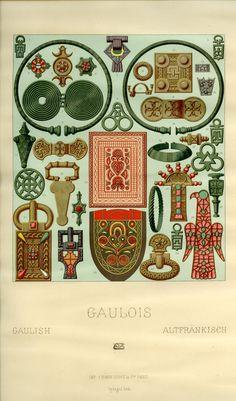 Gaulish Racinet, Auguste. Costume Historique. Paris: Firmin-Didot et Cie, 1888.Margaret M. Bridwell Art Library, University of Louisville.
