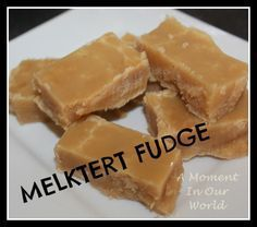 melktert fudge - in welcoming gift basket?