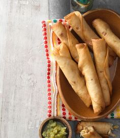Chicken Flautas recipe. Yum!