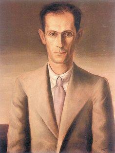 Carlos Drummond de Andrade   Retrato do poeta Carlos Drummond de Andrade em óleo pintado por Cândido Portinari