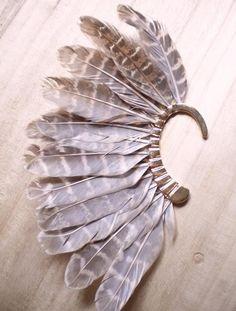 Или   уникальный 1 пк ( левосторонние ) унисекс большой перо уха манжеты нет пирсинг золото зажим серьги для женщины / мужчиныкупить в магазине Runqiao Jewelry FactoryнаAliExpress